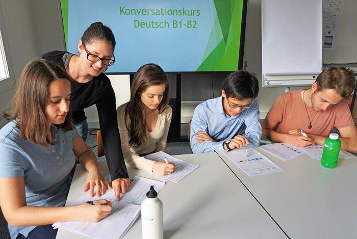 Konversationskurs Deutsch - Julia B. - 2018